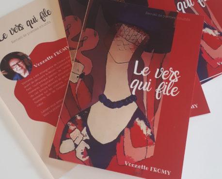 """""""Le vers qui file"""", recueil de poemes intuitifs"""